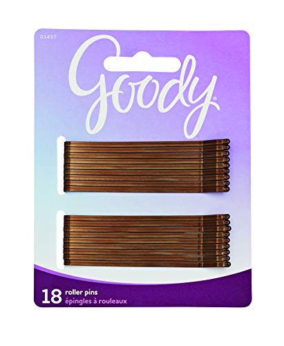 Goody Styling essentials bobby Pins Brown 3quot 18Count Pack Of 6