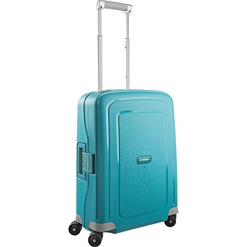 Samsonite S'Cure Hardside Luggage, Aqua Blue, Carry-On