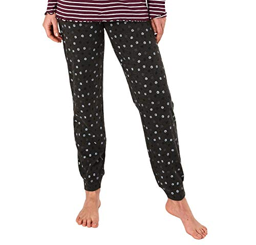 NORMANN WÄSCHEFFE Dames pyjama broek lang, Kringel' - Mix & Match - perfect om te combineren, 291 222 90 904
