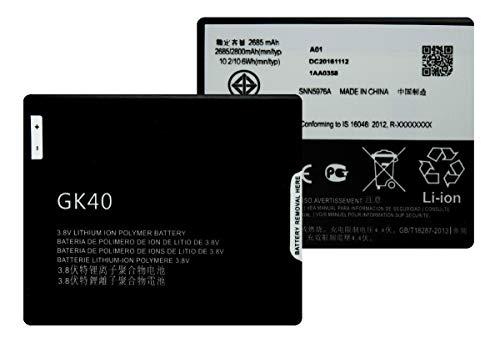 Bateria para Motorola G4 Play Gk40 G5 reposição nova lacrada