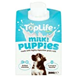 Toplife Goats Milk for Puppies Dogs Treats 200ml Case of 6