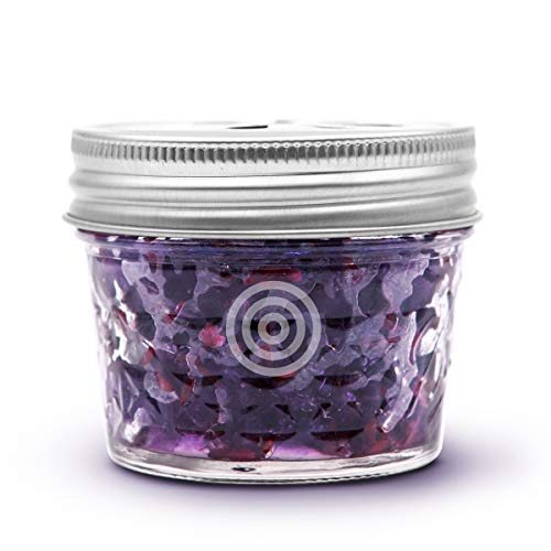 VIOIS, Lavender Aromatherapy Car Air Freshener(Gel Type). Natural Air Freshener for Car, Bedroom, Bathroom & Office. Chemical Free & Non Toxic. Ball Mason 4 Ounce (113g) jar.