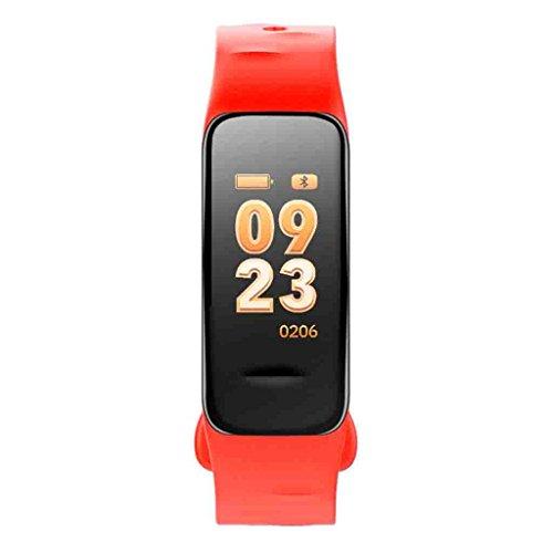 Best Buy! KMDB Blood Pressure Smart Bracelet Large Screen Measurement Heart Rate Oxygen Monitor Weat...
