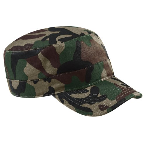 Beechfield, Basecap im Military-Stil, B33, Grün, B33 One size