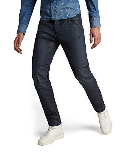G-STAR RAW Herren Jeans 5620 3D Slim, Blau (Dry Waxed Cobler 8968-A887), 34W / 34L