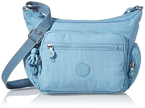 Kipling Bandolera Gabbie S para mujer, talla única, color Azul, talla One Size