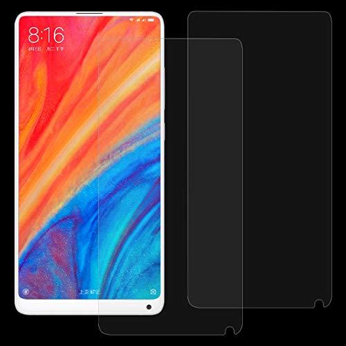 Zhouzl Pellicola in Vetro temperato per Telefono Cellular 2 PCS for Xiaomi Mi Mix 2s 0.26mm 9H Surface Hardness 2.5D Film in Vetro temperato antideflagrante Film di Vetro temperato