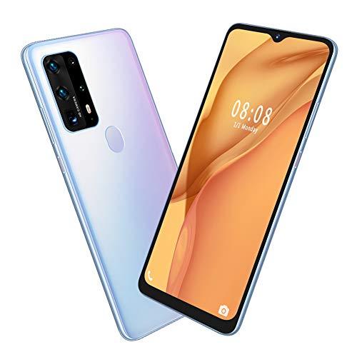Gatuxe MIQOO P43pro Smartphones desbloqueados, teléfono Inteligente con Pantalla Colgante de 6,7 Pulgadas, Tarjetas duales, teléfono móvil con Doble Modo de Espera(Enchufe de la UE)
