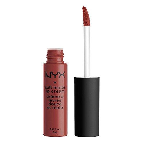 NYX Professional Makeup Pintalabios Soft Matte Lip Cream, Acabado cremoso mate, Color ultrapigmentado, Larga duración, Fórmula vegana