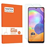 TANTEK [2-Pack] Screen Protector for Samsung Galaxy A31,6.4-Inch,Tempered Glass Film,Ultra Clear,Anti Scratch,Bubble Free,Case Friendly