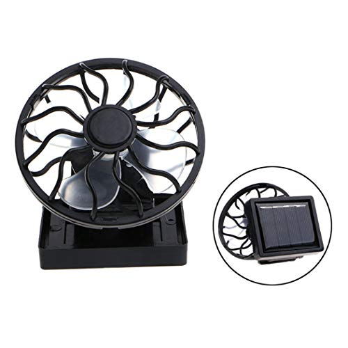 JUSTDOLIFE Ventilador pequeño Abrazadera portátil la Tapa Ventilador de Escritorio Ventilador de Camping para Oficina