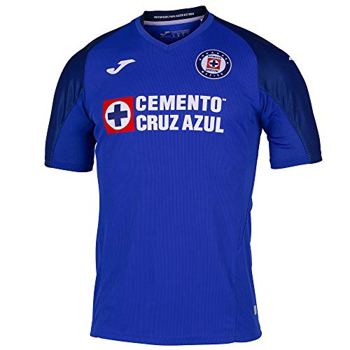 Joma 2019/2020 Cruz Azul Jersey's (Royal, Medium)