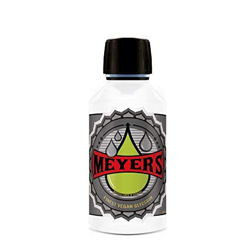 Meyer's veganes Glycerin rein pflanzlich, Pharmaqualität 99,7% (250ml)