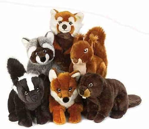 comprar mejor Lelly 27 cm cm cm Assorted Forest Animals Stuffed Toy (marrón) by Lelly  ahorra hasta un 80%