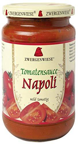 Zwergenwiese Bio Tomatensauce Napoli (6 x 340 ml)
