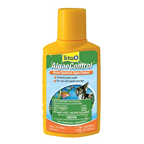 Tetra 77184 Algae Control, 3.38-Ounce, 100-ml (2-Pack)