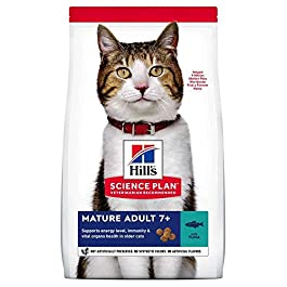 Hill's Science Plan Mature Adult 7+ Dry Cat Food Tuna Flavour 1.5kg
