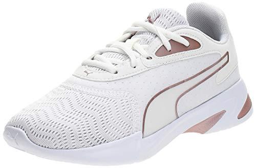 PUMA Damen JaroMetal WNS Sneaker, Weiß White-Rose Gold, 38.5 EU