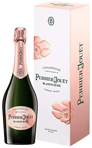 Champagne Perrier-Jouët Blason Rosé – Floraler, kräftig-fruchtiger Premium-Champagner aus dem Hause Perrier-Jouët – 1 x 0,75 L