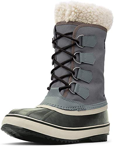 Sorel Women's Winter Carnival Boot, Pewter/Black, 5 M US