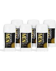 Marchio Amazon - Solimo MEN Deodorante in crema anti-traspirante per uomo, protezione massima, profumo di agrumi freschi, confezione da 6 (6x45 ml)