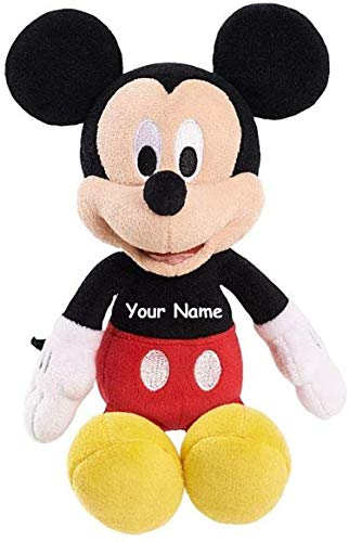 Disney Mickey Mouse Clubhouse Juguetes de Peluche, Mickey Mouse Personalizado, 9 Inches
