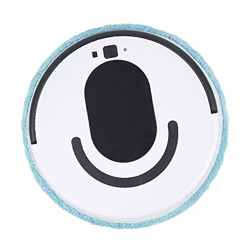 Prettyia Robot Aspirador Wet & Dry Barredora Automática de Suelo para El Hogar Limpiaparabrisas USB