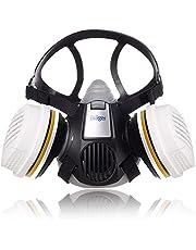 Dräger X-plore® 3300 Schilderset/Tuinbouwset halfgelaatsmasker met twee herbruikbare A2 P3 filters voor verfspuiten en werkzaamheden in de tuinbouw Size L