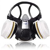 Dräger X-plore 3300 | Kit de Semi máscara + filtros A2 P3 RD | Respirador de...