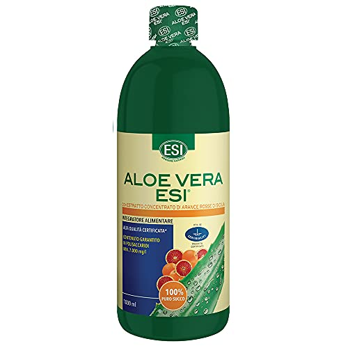 Aloe Vera Succo Arancia Rossa - 1000 ml