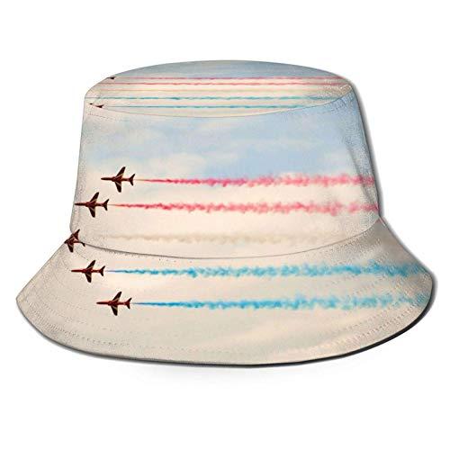 Five Airplane Bucket Hat Gorra de Verano al Aire Libre Unisex Sombreros de Sol Plegables para...