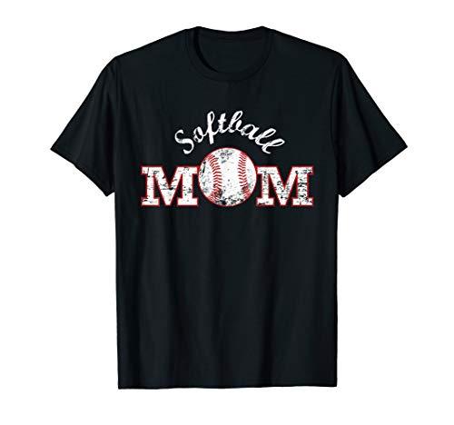 Softball Mom Shirt, Mother 's Day Geschenk Mütter Mama