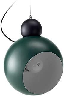Nordic Style Olive Shape Rotatable Pendant Light, Minimalist Modern Restaurant Lamp Shades Ceilings Restaurant Lampshade Hanging Bedroom Bedside Single Head Chandelier,Green