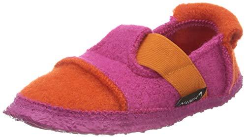 Nanga Kinder - Unisex Hausschuh Berg orange rosa 25