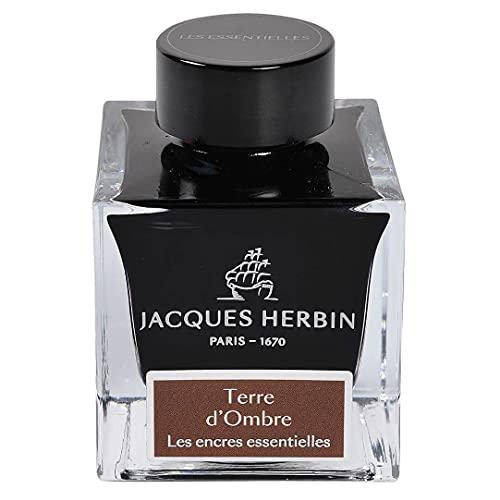 Jacques Herbin 13147JT - Bote de tinta para pluma y bolígrafo roller, 50 ml