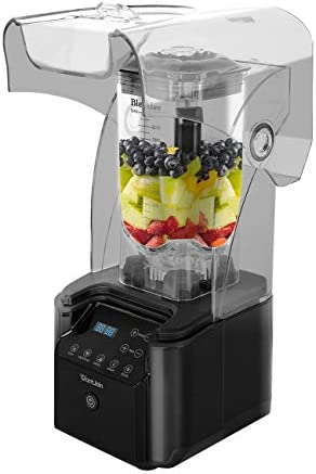 WantJoin Professional Commercial low Noise Blender With Shield Quiet Sound Enclosure 2200W with product image
