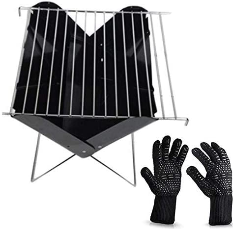 CUISIDIAO Foldable and Portable Max 41% OFF Outdoor Porta Dedication Charcoal BBQ Small