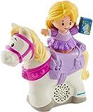 Little People- Fisher-Price Disney Rapunzel y Maximus (Mattel GNG90)