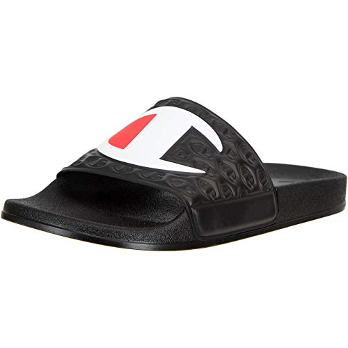 Champion M-Evo Slide - Chanclas de baño, color Negro, talla 39 EU