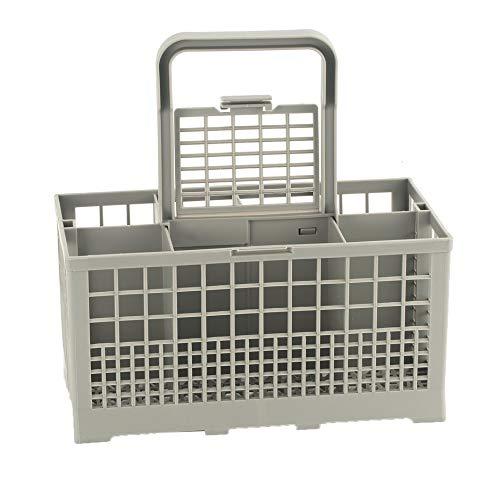 Jullyelegant Caja de Almacenamiento de cesto de Cubiertos Universal para lavavajillas de 1 Pieza Caja de Almacenamiento para lavavajillas de Repuesto de Ayuda de Cocina - Gris 240 * 140 * 120