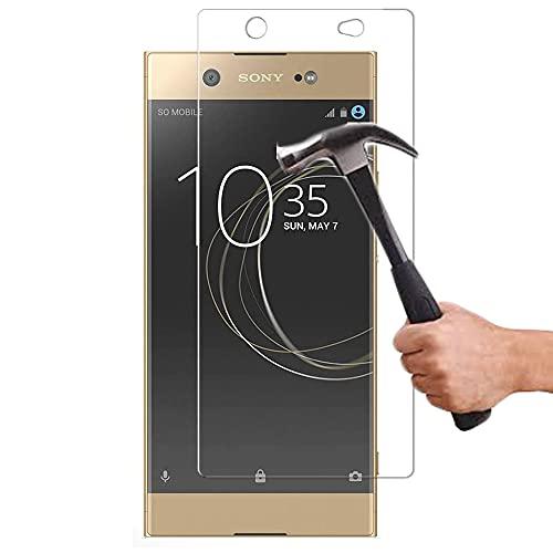 Lapinette Protector de Pantalla Compatible con Sony Xperia XA1 Ultra - 2 Piezas - Protector de Pantalla Vidrio Templado - Película Protectora Cristal Templado - 9H Force Glass Ultrarresistente