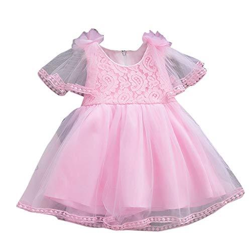 Rawdah* (6M-24M) Robe sans Manches en Taupe De Gaze avec Empiècement en Dentelle De Couleur Unie Tout-Petit bébé Filles Manches Jupe Tulle Solide Party Floral Princesse Robes