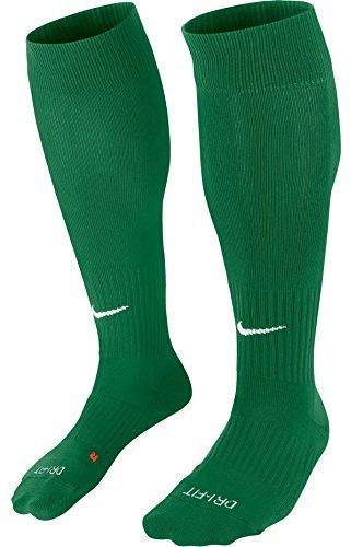 Nike U NK Classic II Cush otc-team Unisex Socken, Mehrfarbig (Pine Green / White), 42-46 (Herstellergröße : L)