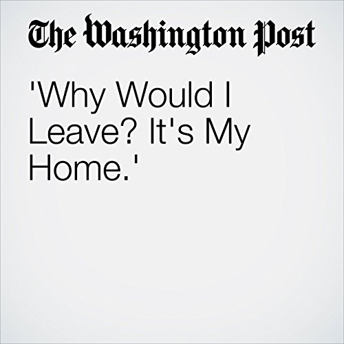 'Why Would I Leave? It's My Home.' cover art