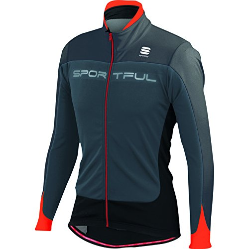 Veste Sportful Flash Softshell Gris-Rouge 2015