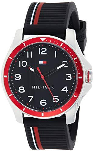 Tommy Hilfiger Reloj Analógico para Unisex niños de Cuarzo con Correa en Silicona 01720004