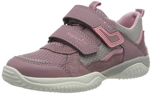Superfit Mädchen STORM Sneaker, Violett (Lila/Grau 90), 32 EU