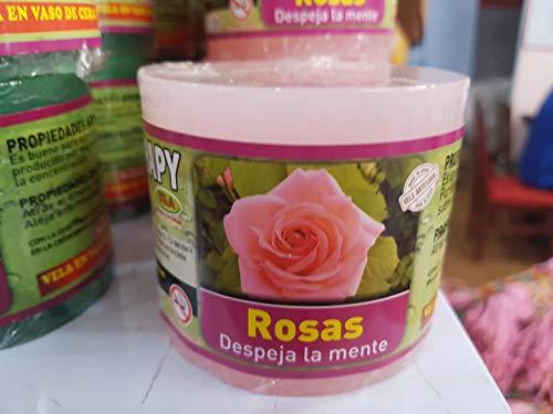 Velón Esotérico Aromaterapia Rosas - Peticiones y Rituales - Magia Blanca