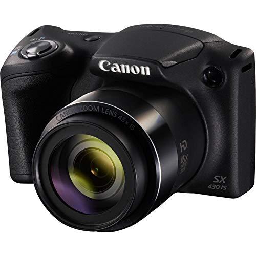 Canon Italia PowerShot SX430 IS Fotocamera Digitale Compatta, Nero