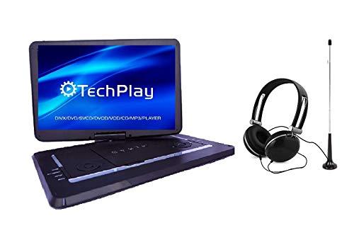 15.6'' Inch TV/portable DVD All Multi Region Zone Free HD Swivel Portable DVD Player SYDVD9113TV